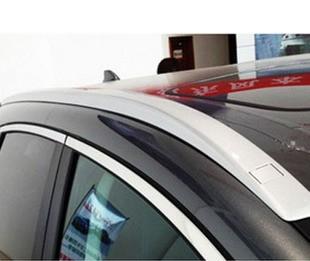 2012款本田CRV豪华款行李架 银漆高清图片